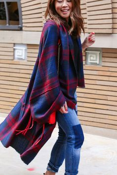 Cape and Poncho Outfit Ideas | Raw Edge