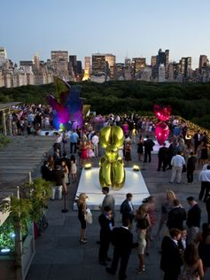 For a glamorous new view of New York, the Iris & Gerald B. Cantor Roof Garden on top of the Met offers a spectacular new outlook. The 10,000-square-foot terrace that overlooks Central Park and the skyline.