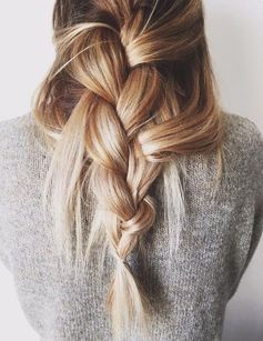 Hairstyles for Girls Who Can't Style Their Hair | Undone Braid