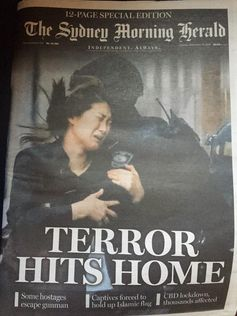 The Sydney Morning Herald on Sydney' siege at Martin Place