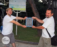 Thanks to Andrey and his friend from Ukraine for sharing their love of Batumi :)