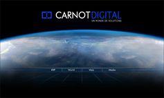Carnot Digital, « Solutions internet et informatiques », vous propose 4 univers de compétences intégrées. http://www.carnotdigital.com