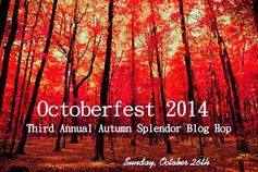 THIRD ANNUAL  OCTOBERFEST  BLOG HOP  Sunday October 26, 2014  A Home & Hearth Celebration of Autumn's Splendor featuring handcrafted jewelry, artisan beads, home decor, crafts, Halloween fun, food, friends & family.   Limited to 50 participants.   This year's grand prize: A Vintaj Bigkick embossing & etching machine :)   Sign ups now open at: http://www.jewelschoolfriends.com/2014/05/octoberfest--2014-blog-hop-sign-ups.html