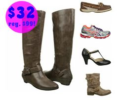 FamousFootwear: BOGO 50% off + Extra 15% off = Women's Aerosoles Sottoman Boots Only $34 (reg. $99.99) + Much More!