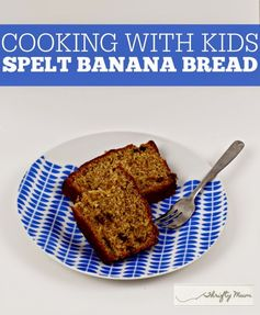 A Thrifty Mum: B is for Bananas - Spelt Banana and Chocolate Bread