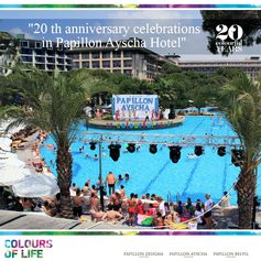 Papillon Ayscha 20th year anniversary celebrations