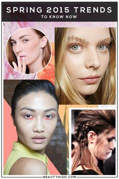 spring 2015 beauty trends
