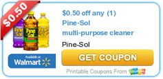 $0.50 off any (1) Pine-Sol multi-purpose cleaner