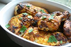 I Thee Cook: Chermoula Spiced Roasted Chicken
