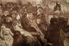 Breastfeeding in Church - 1871 | Community Post: 25 Historical Images That Normalize Breastfeeding
