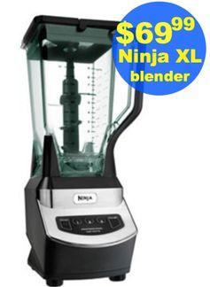 Kohls.com: Highly Rated Ninja XL Blender = $69.99 After Kohl's Cash!  Regularly $139.99!