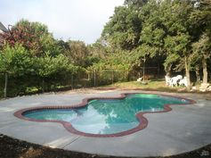 fiberglass pool above ground