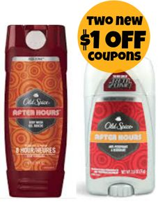 Old Spice: New $1 off Body Wash + $1 off Antiperspirant/Deodorant Coupons!