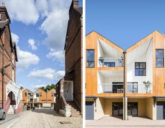 A Dashing Modern Rendition of London Mews Housing - Adventures in Architecture - Curbed National