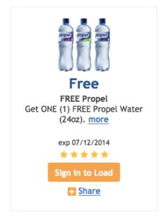 Kroger & Affiliates (Fred Meyer, QFC, Etc.): Download Coupon For FREE Bottle of Propel! TODAY ONLY