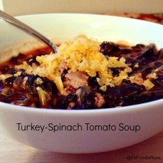 Turkey Spinach Tomato Soup