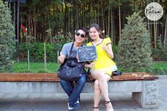 Thanks to this nice couple from China for sharing their <3 of Batumi :)