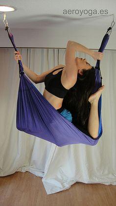Aerial Yoga Postures by Aerial Yoga (AeroYoga) www.aeroyogausa.com #aerialyoga #aeroyoga #aero #yoga #pilates #aerial #swing #anti #free #gravity #gravedad #training #suspension #rafaelmartinez #columpio #hamac #fly #flying #acro #acrobatic #fitness #gym #health #wellness #bienestar #bienetre #iogaaeri #circus #circo #trapeze #trapecio