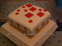 Coolest Minecraft Cake