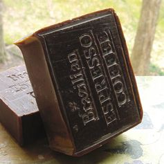 Mmmmm...cofffee....this luscious homemade coffee espresso soap--healthy  ingredients . A perfect gift for the coffee lover in your life, or just a great way to start your day!