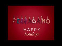 From all of us at Ferragamo, wishing you a bright, colorful and happy holiday season.