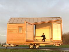 This tiny home is designed to appear much larger than it actually is.