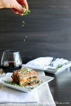 Butternut Squash and Kale Lasagna | Vanilla And Bean