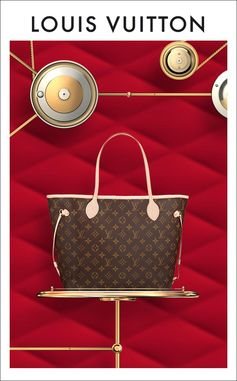Give her an icon, the Louis Vuitton Neverfull. Shop Now.
