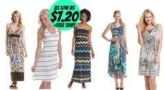 *HOT!* Bonton.com: Women's & Junior's Dresses as low as $7.20 + FREE shipping!