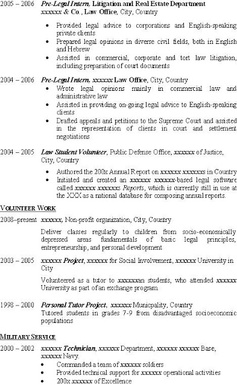 cv personal statement architect united states foreign