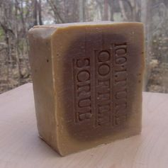 100 % Pure Brazilian Coffee Scrub Soap with Cocoa Butter by Natural Handcrafted Soap LLC, http://www.amazon.com/dp/B003AJRSEY/ref=cm_sw_r_pi_dp_Um9csb0VYFNHW