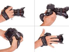 The SpiderPro Hand Strap fixes several design problems to give you a more secure grip and a better fit. Looks good!