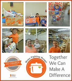Mini Can Food Drive - To Help Teach Children To Give by FSPDT #momsfightinghunger #nokidhungry