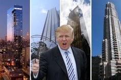 The epicenter of Donald Trump's real estate empire, mapped.