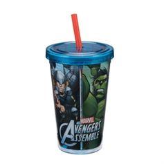 Marvel Avengers Assemble 12 oz. Acrylic Travel Cup #VandorLLC #AvengersAssemble