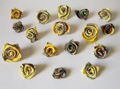 Reduce-Craft-Recycle-Repeat: Paper Craft - Tea Box Roses