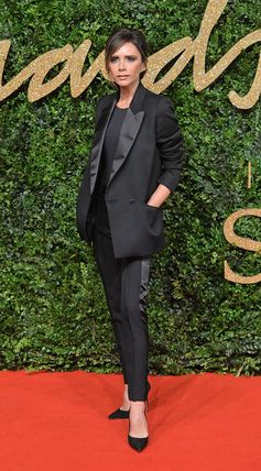 Best Dressed at the British Fashion Awards 2015 | Victoria Beckham