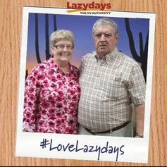 Thanks to George & Donna for purchasing their 2015 #Winnebago #View with us at #Lazydays #Tampa!