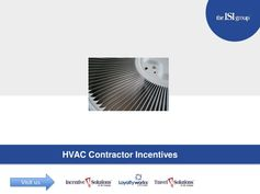 HVAC contractor incentives