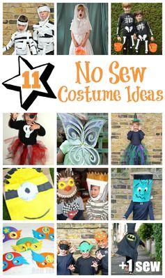 No Sew Costume Ideas