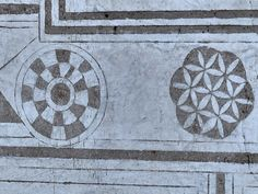 Flower of Life and other geometric symbols from the castle of Rozmberk in the Czech Republic. On 14-16th century AD castle was owned by a Czech alchemist, symbols orinating probably from that period. (Photo by Mark Libal)