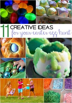 creative ideas for your #easter egg hunt