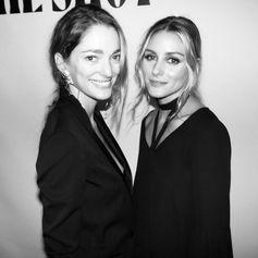 Elegant duo Olivia Palermo and Sofia Sanchez de Betak