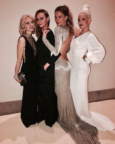 My gals! x Stella #MetGala