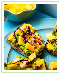Mango Avocado Toast