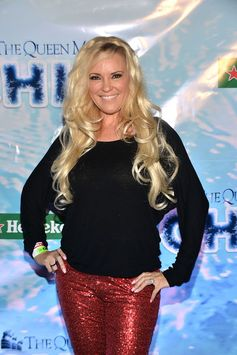 Former playmate Bridget Marquardt attends The Queen Mary's 'CHILL Freezes Over SoCal' holiday event.