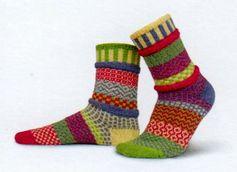 Solmate Socks Vermont Garden Aster Sock