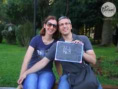 Thanks to this nice couple for sharing their love of Batumi :))) <3