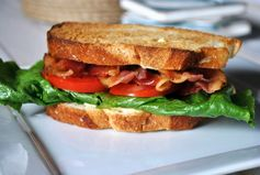 Classic BLT with Homemade Olive Oil Mayonnaise | Sweet Caroline's Corner