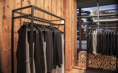 The BOSS concept store, featuring Made to Measure, open until February 15 at the Kempinski Hotel 'Das Tirol', Kitzbühel